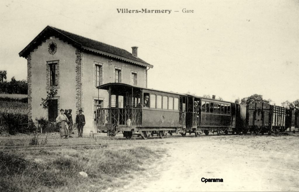 Villers marmery 51 marne cartes postales anciennes for 51 haute marne