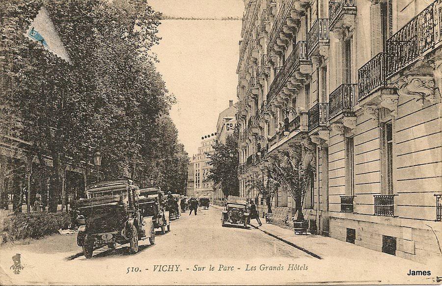 Vichy h tels vichy cartes postales anciennes sur cparama for Hotels vichy