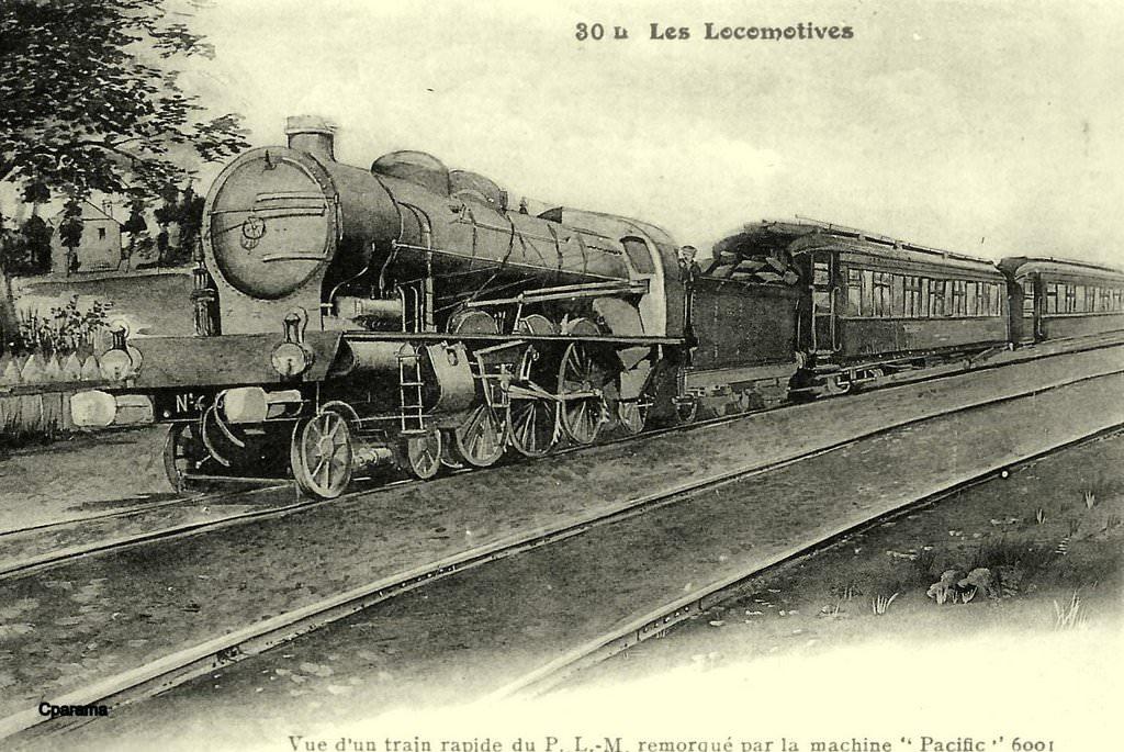 Cartes postales rares (L) de la collection F. Fleury : Trains - Page 2   Cartes Postales ...
