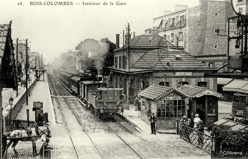 Gare De Bois Colombes - Bois Colombes 92 Hauts de Seine Cartes Postales Anciennes sur CPA