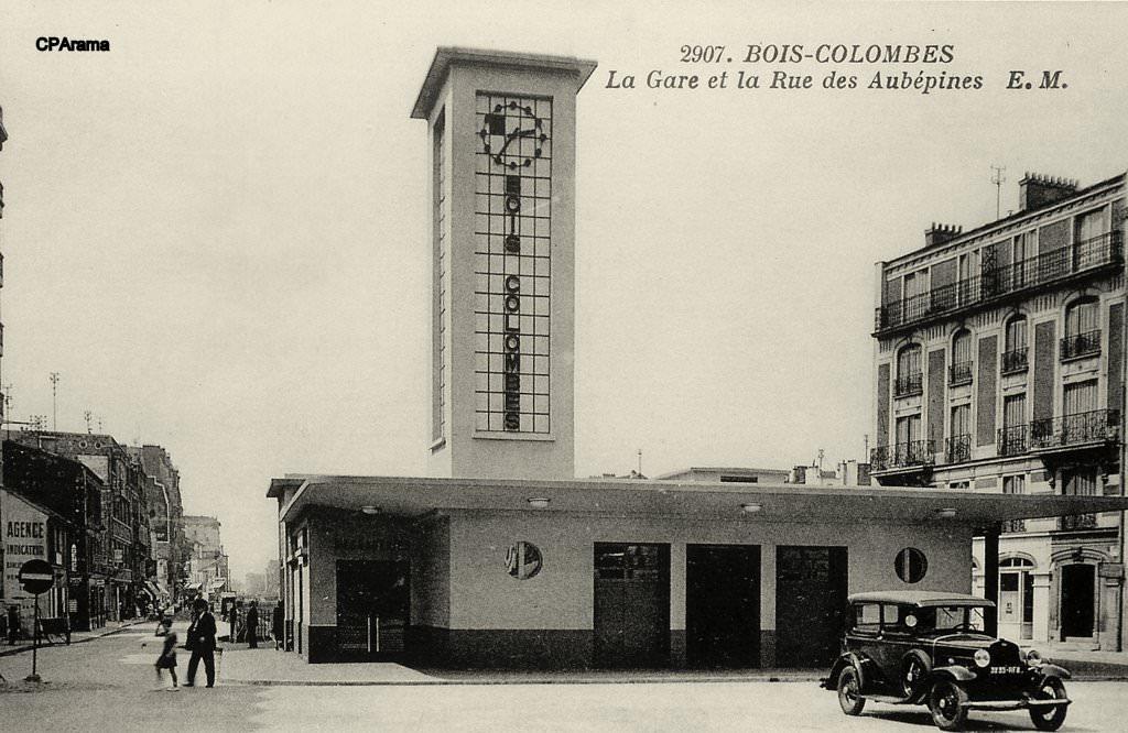 Gare De Bois Colombes - Bois Colombes 92 Hauts de Seine Cartes Postales Anciennes sur CPArama