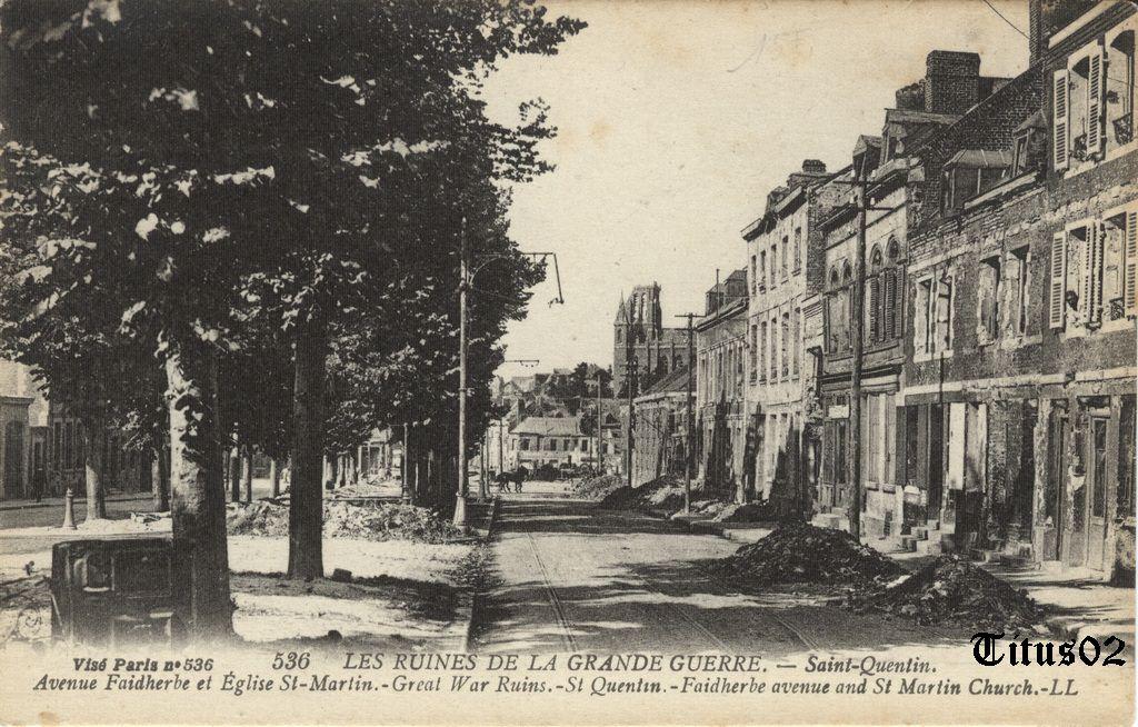 Saint quentin ruines de la grande guerre 1914 1918 - Piscine jean bouin saint quentin ...