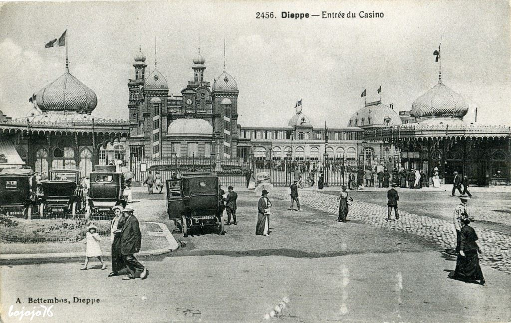 dieppe casino dieppe cartes postales anciennes sur cparama. Black Bedroom Furniture Sets. Home Design Ideas