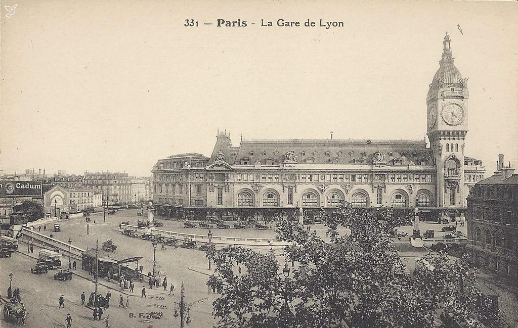Bien-aimé Paris - Gare de Lyon : Paris XIIe arr. | Cartes Postales Anciennes  QZ05