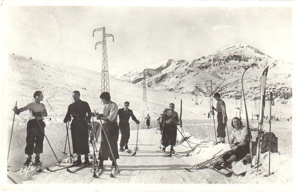 Les sports d'hiver a Puymorens