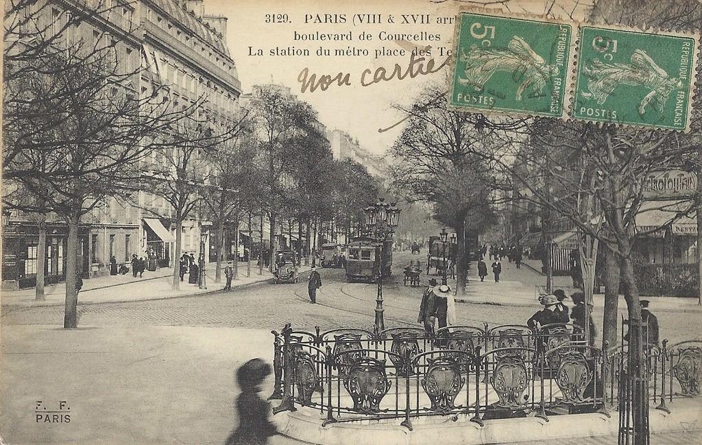 Paris - Place des Ternes : Paris XVIIe arr. | Cartes Postales ...