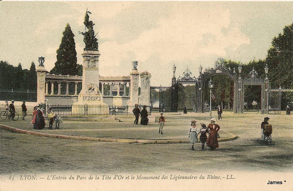 Extrêmement Lyon - Parc de la Tête d'Or : Lyon | Cartes Postales Anciennes sur  YU57
