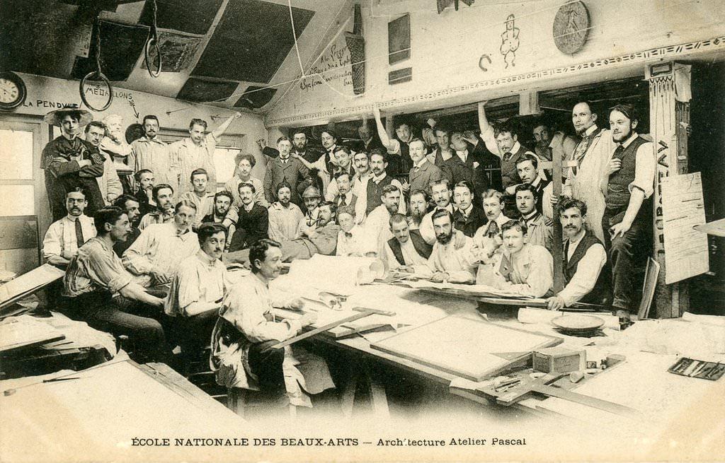 Paris ecole des beaux arts paris vie arr cartes postales anciennes sur - Ateliers d arts de france ...