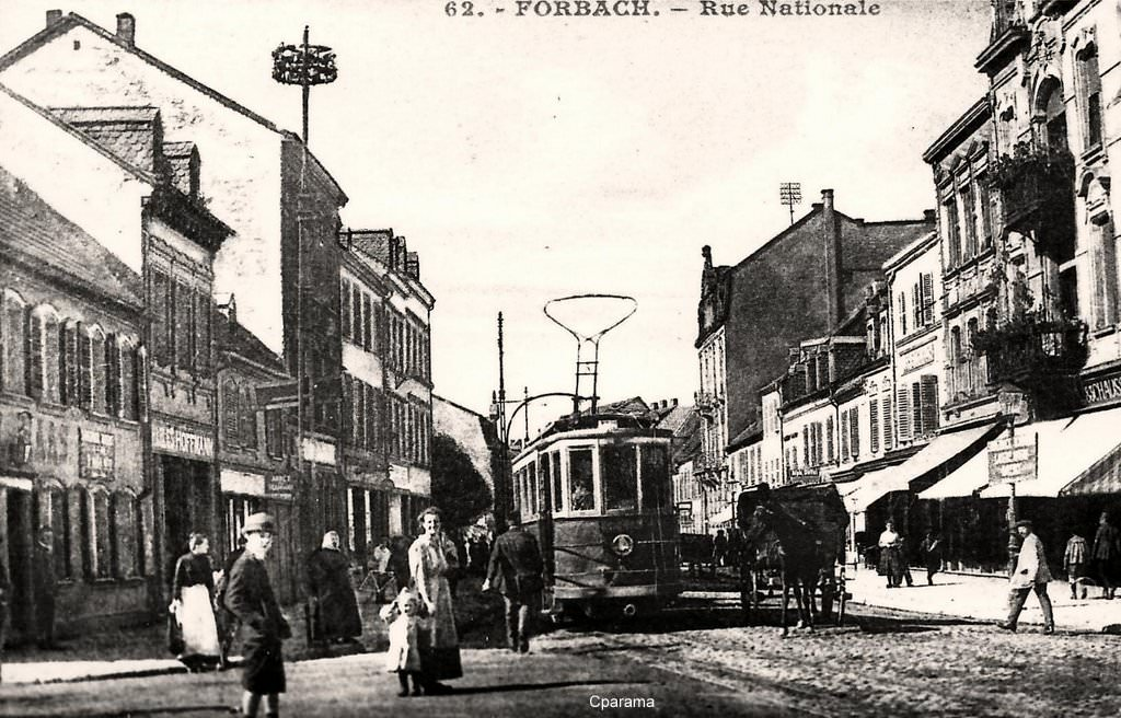 forbach 57 moselle cartes postales anciennes sur cparama