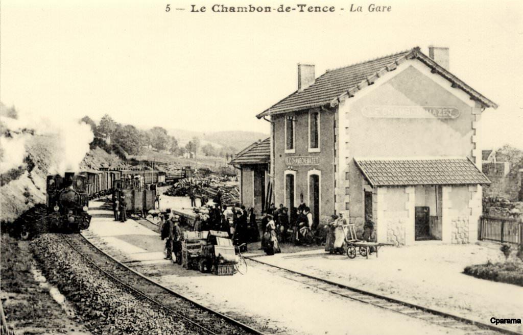 Chambon sur lignon 43 haute loire cartes postales anciennes sur cparama - Chambre d hote chambon sur lignon ...