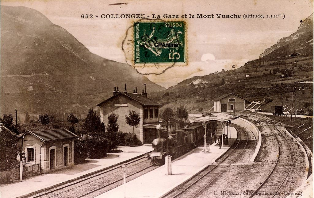 News de 01 ain page 8 cartes postales anciennes sur for Photographe clamart gare