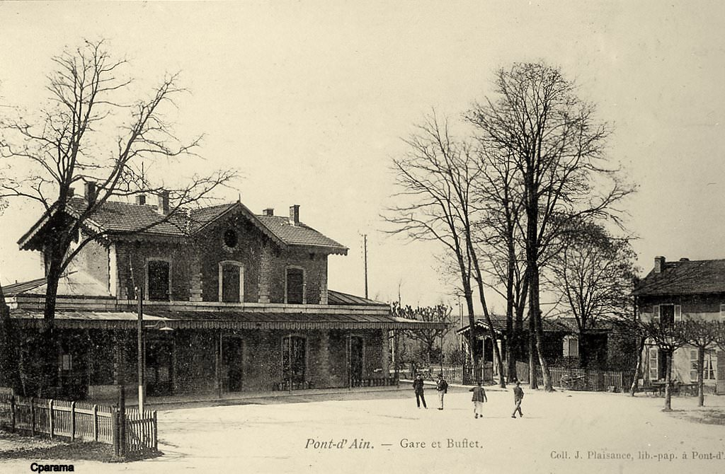 News de 01 ain page 7 cartes postales anciennes sur for Photographe clamart gare