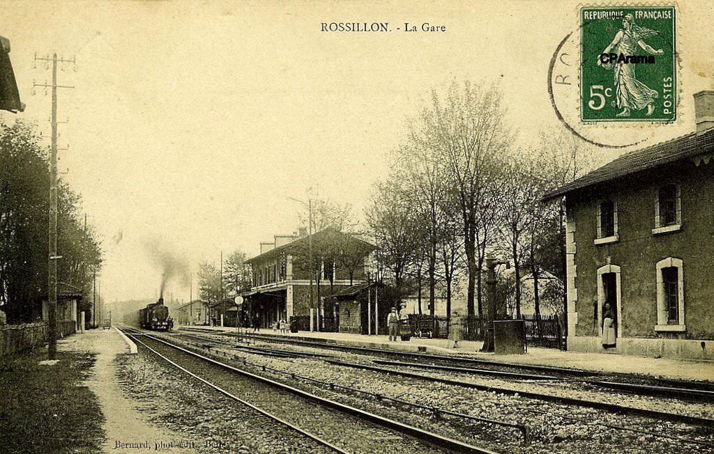 Rossillon 01 ain cartes postales anciennes sur cparama for Photographe clamart gare