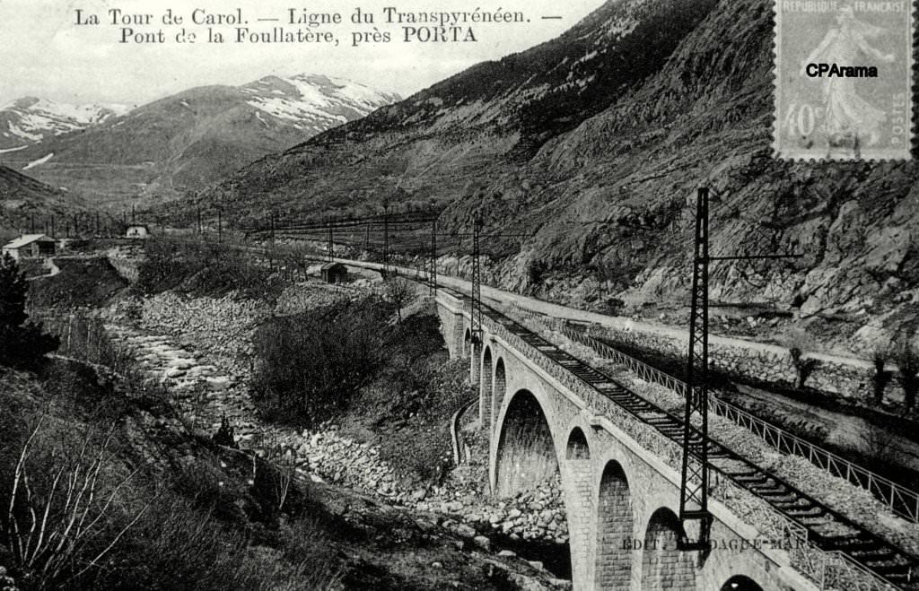 Pont de la Foullatère près de Porta