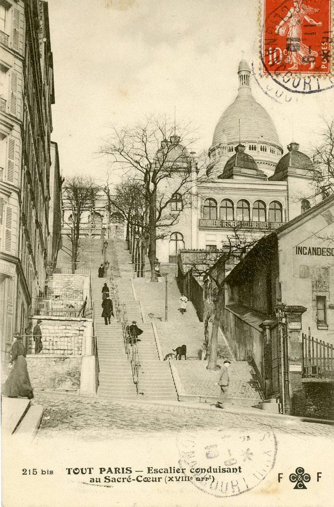 Paris rue chappe paris xviiie arr cartes postales anciennes sur cparama for Photos maisons anciennes