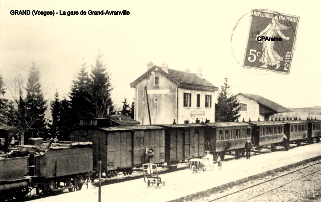 Résultat d'images pour gare de grand 88