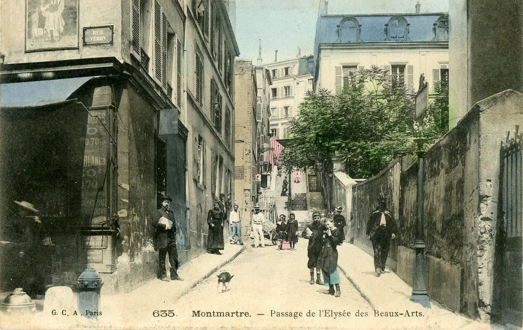 Paris rue andr antoine paris xviiie arr cartes - Bureau de change rue montmartre ...