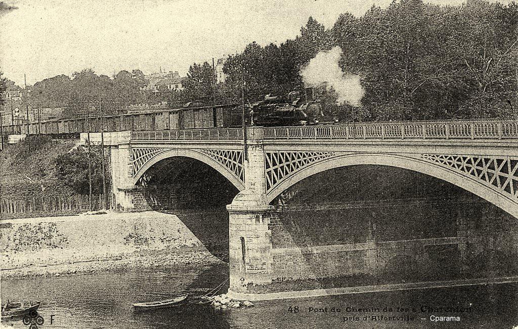 Charenton 94 val de marne cartes postales anciennes for Charenton le pont piscine