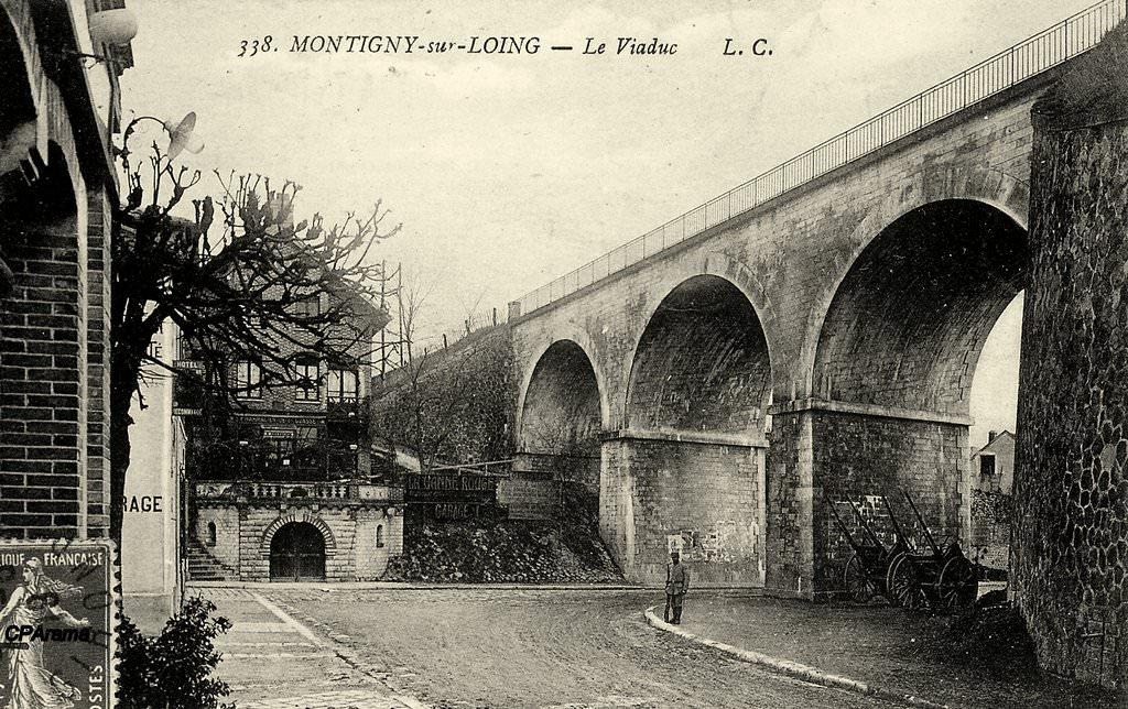 Montigny sur loing 77 seine et marne cartes postales anciennes sur cparama - Magasin avenue de la gare luxembourg ...