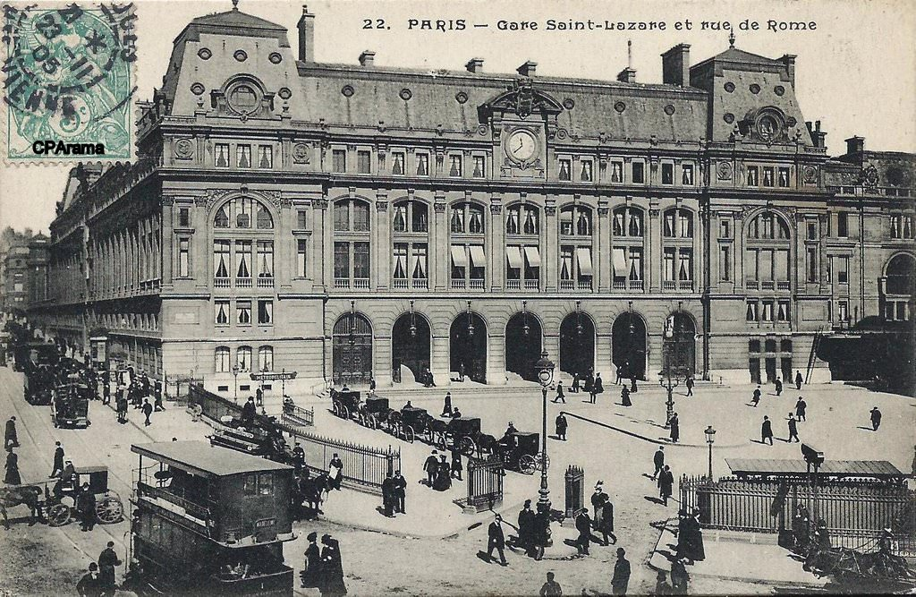 Paris gare saint lazare paris viiie arr page 2 for Garage versailles 44