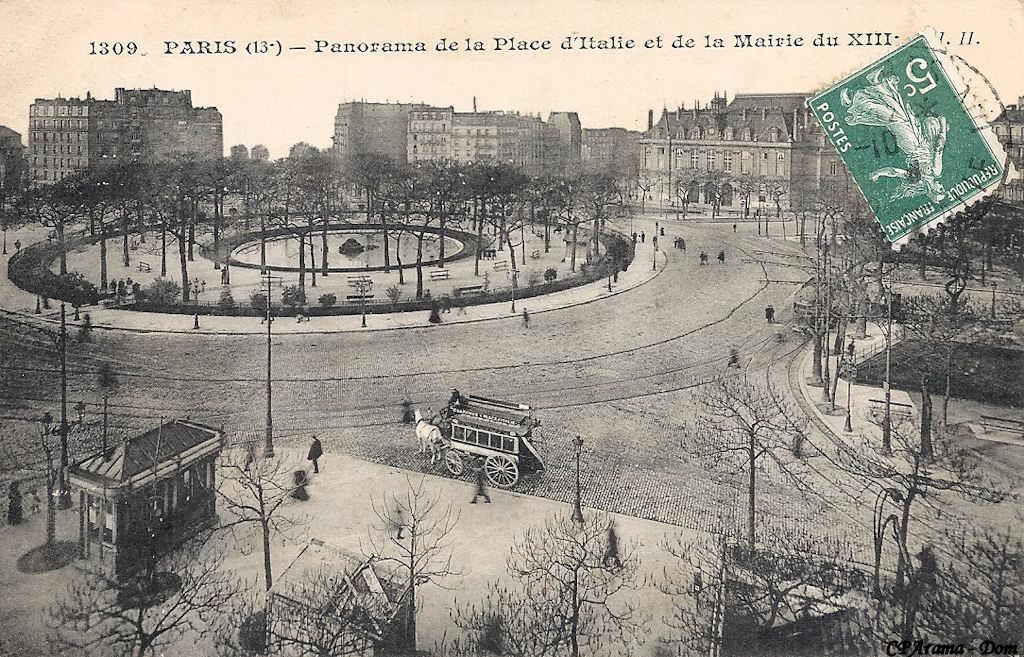 Paris place d 39 italie paris xiiie arr cartes - Piscine place d italie ...