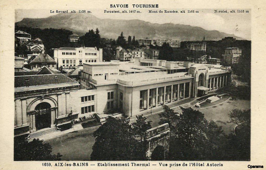 CPA FRANCE 73  Aix les Bains, Etablissement thermal   73