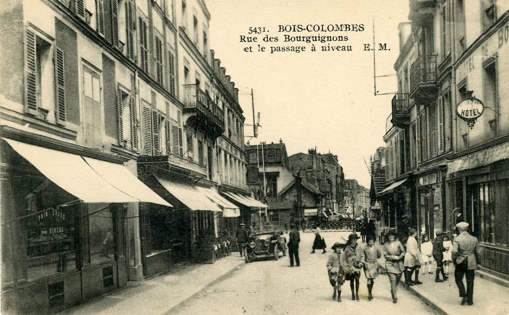 BoisColombes  92  HautsdeSeine  Cartes Postales  ~ Rue Des Bourguignons Bois Colombes