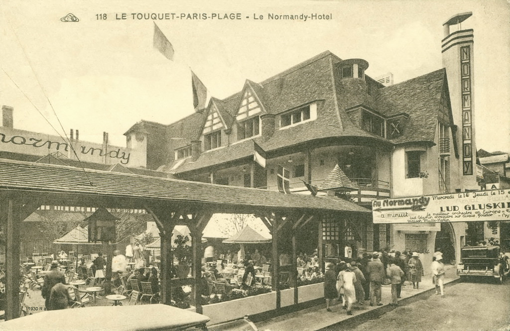 Le touquet paris plage 62 pas de calais cartes for Restaurant le jardin au touquet