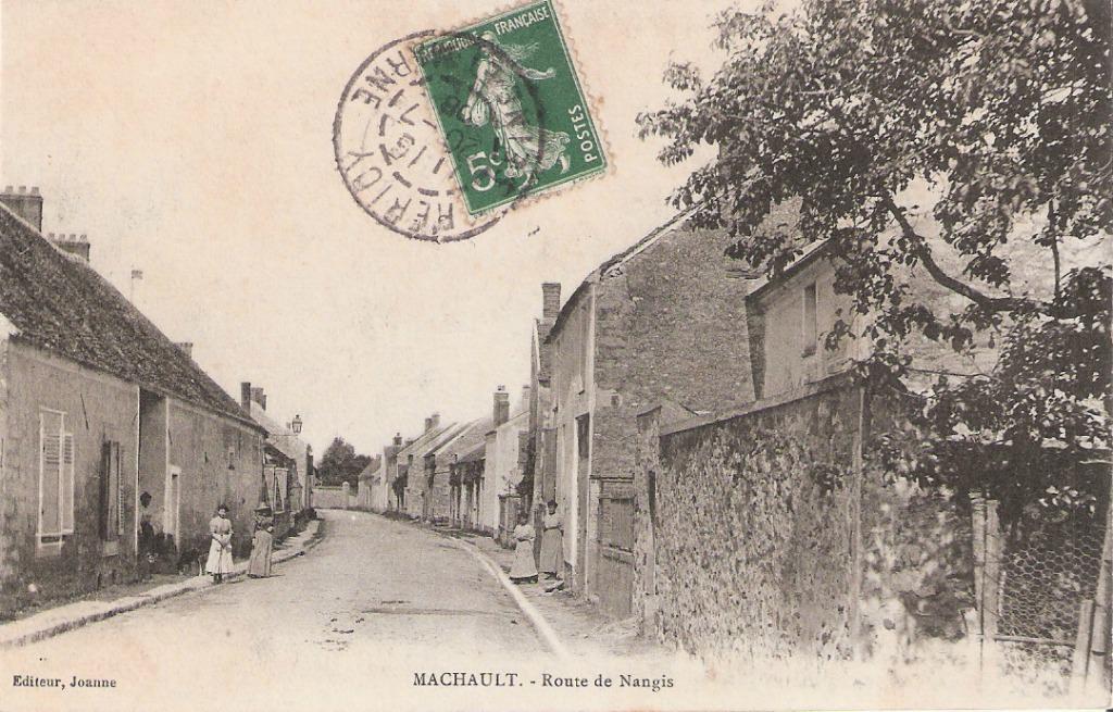 machault 77 seine et marne cartes postales anciennes