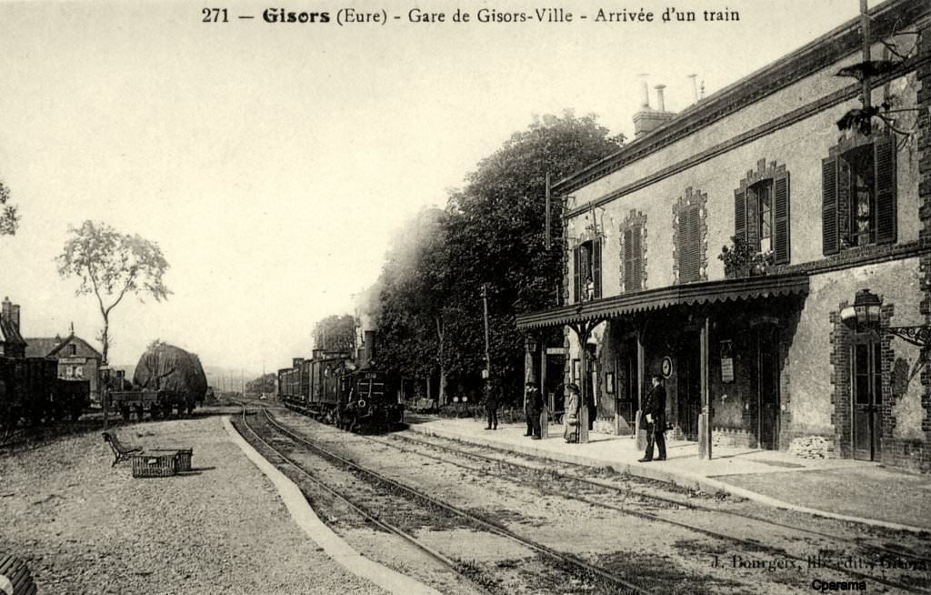 Gisors 27 eure cartes postales anciennes sur cparama - Piscine gisors trie chateau ...