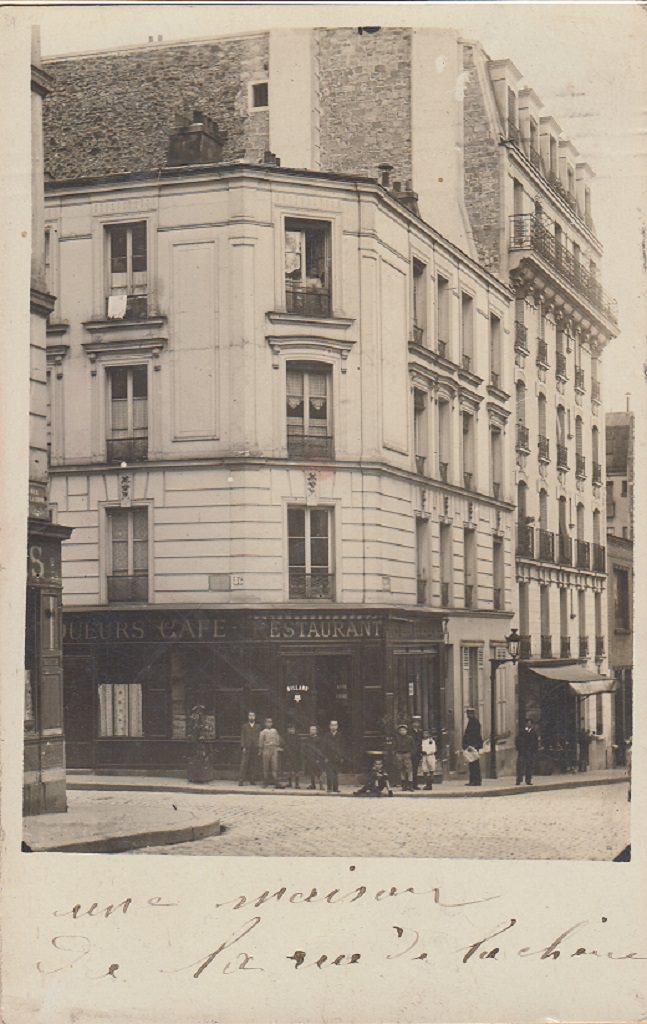 paris rue de la chine paris xxe arr cartes postales anciennes sur cparama. Black Bedroom Furniture Sets. Home Design Ideas