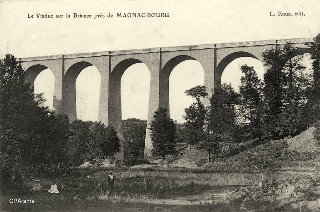 Magnac bourg 87 haute vienne cartes postales for 87 haute vienne carte