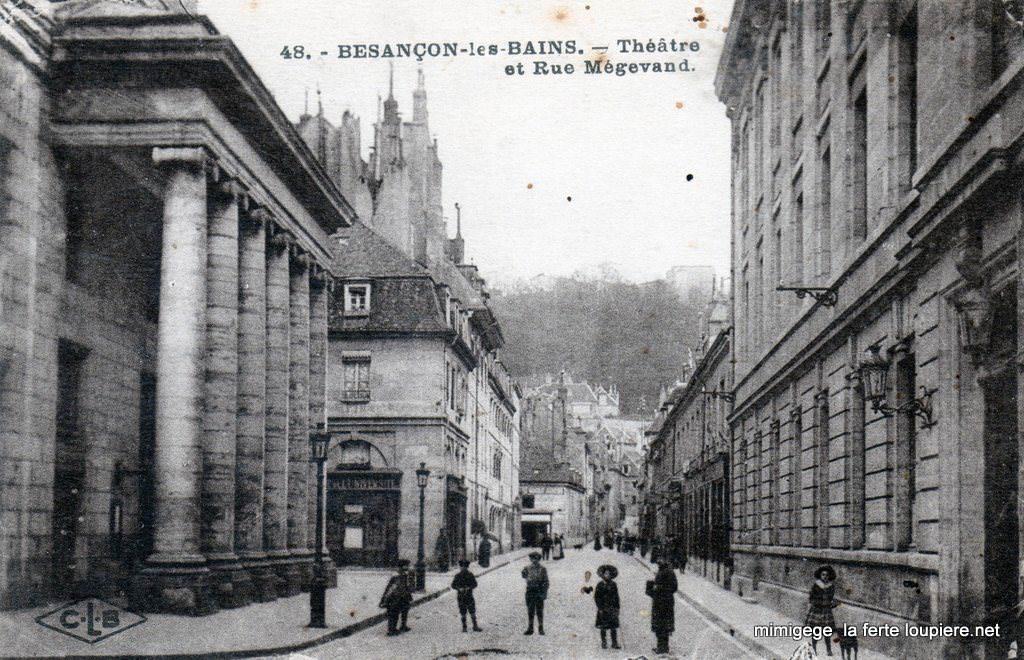 Besan on 25 doubs page 2 cartes postales anciennes for Code postal de besancon