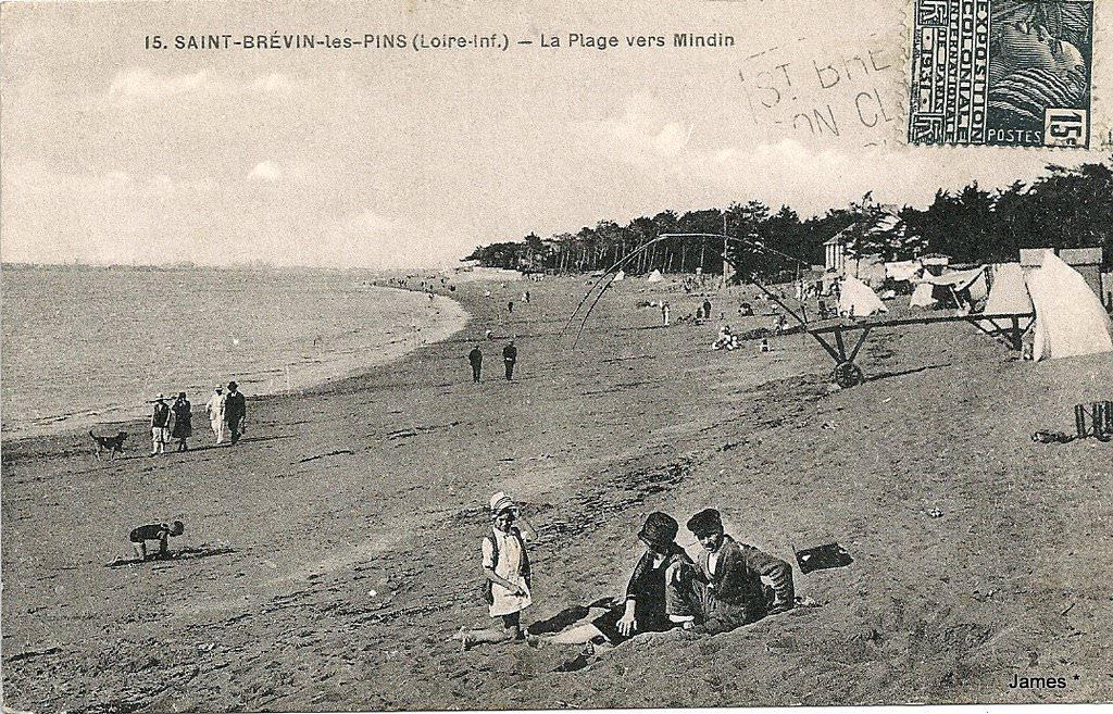 Saint br vin les pins 44 loire atlantique cartes postales anciennes sur cparama - Les pierres couchees saint brevin ...