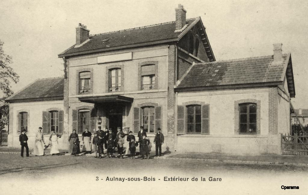 Aulnay sous Bois 93 Seine Saint Denis Cartes Postales Anciennes sur CPArama # Carte Grise Aulnay Sous Bois