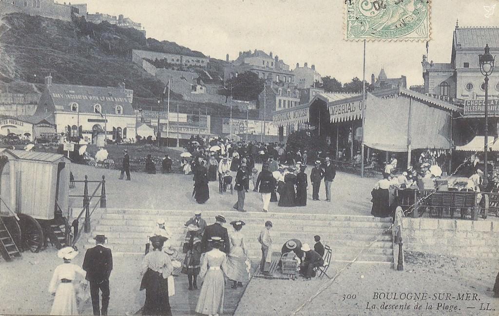 Boulogne-sur-Mer - Plage : Boulogne-sur-Mer Cartes Postales