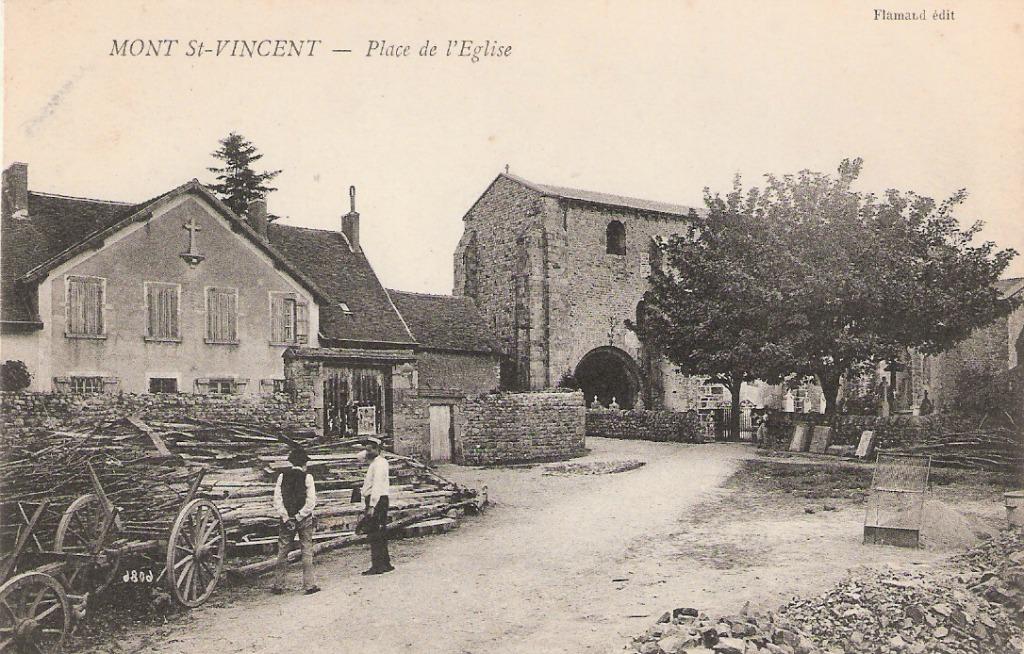 Mont saint vincent 71 sa ne et loire cartes postales for 71 haute saone