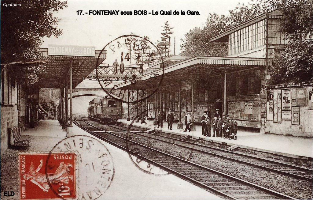 Fontenay sous Bois 94 Val de Marne Cartes Postales Anciennes sur CPArama # Podologue Fontenay Sous Bois