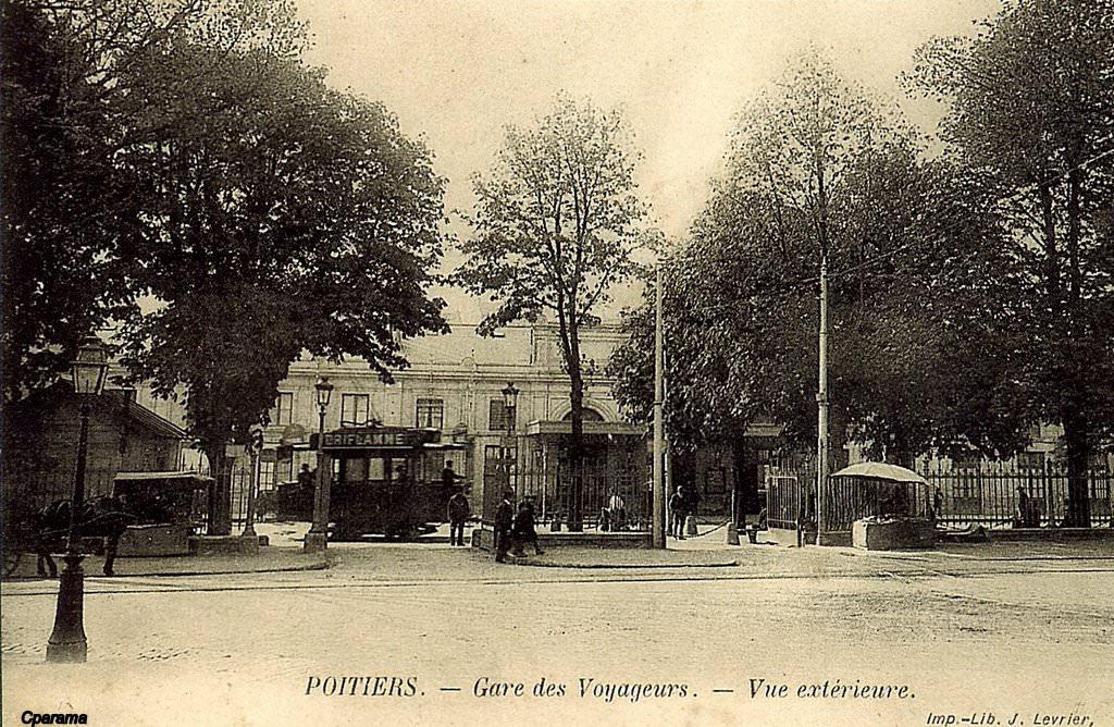 Poitiers gare et trains poitiers cartes postales - Depot vente poitiers ...