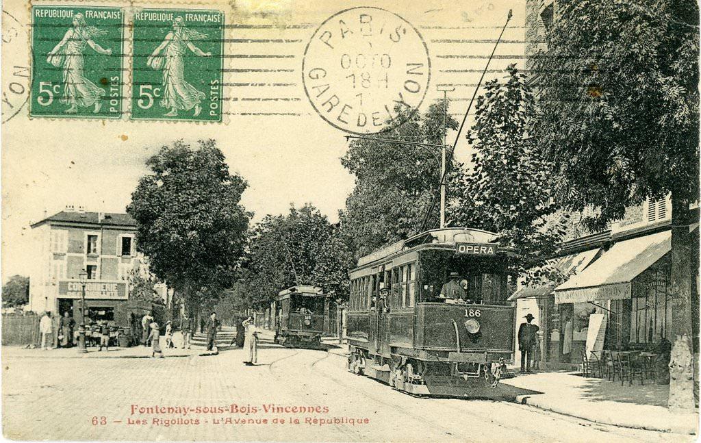 Fontenay sous Bois 94 Val de Marne Cartes Postales Anciennes sur CPArama # Imprimerie Fontenay Sous Bois