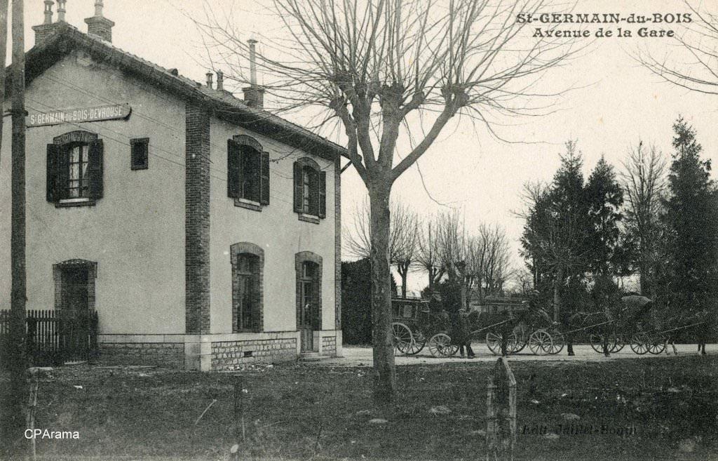 Saint Germain Du Bois - Saint Germain du Bois 71 Sa u00f4ne et Loire Cartes Postales Anciennes sur CPArama