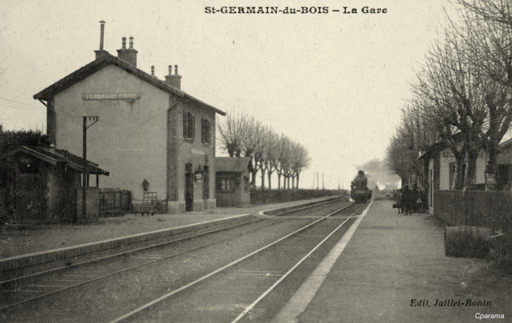 SaintGermainduBois  71  SaôneetLoire  Cartes Postales