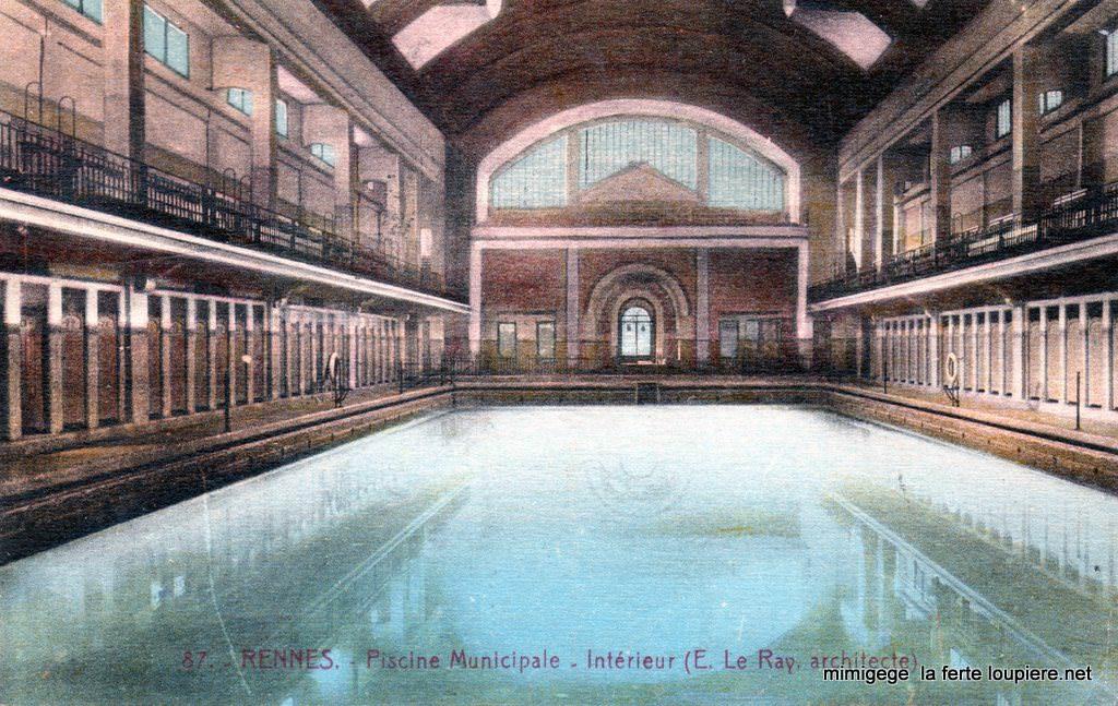 Rennes 35 ille et vilaine page 3 cartes postales for Piscine saint georges rennes