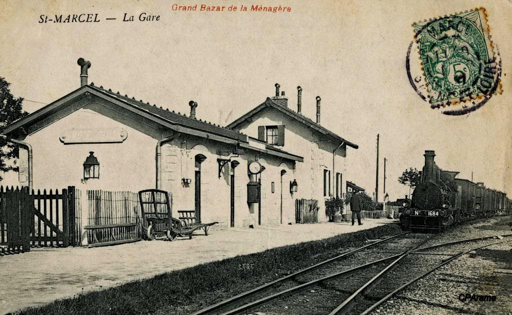 Saint marcel 71 sa ne et loire cartes postales for 71 haute saone