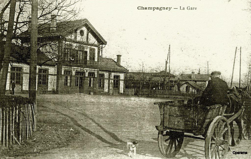 Champagney 70 haute sa ne cartes postales anciennes for 70 haute saone