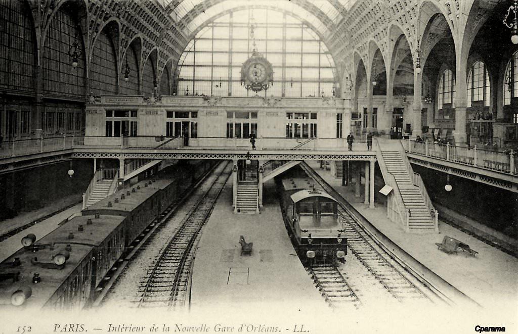 Paris gare d 39 orl ans quai d 39 orsay paris viie arr for Quai d orsay metro