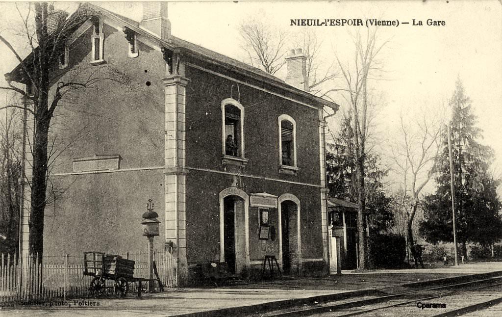 Nieuil l 39 espoir 86 vienne cartes postales anciennes for 86 haute vienne