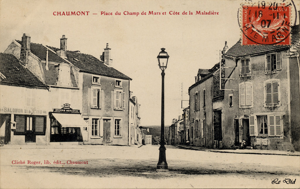 News de chaumont page 4 cartes postales anciennes sur for Chaumont haute marne