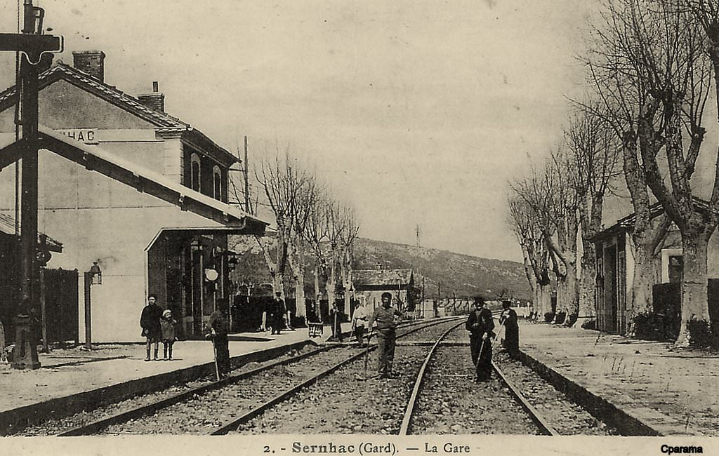 Sernhac 30 gard cartes postales anciennes sur cparama for Photographe clamart gare