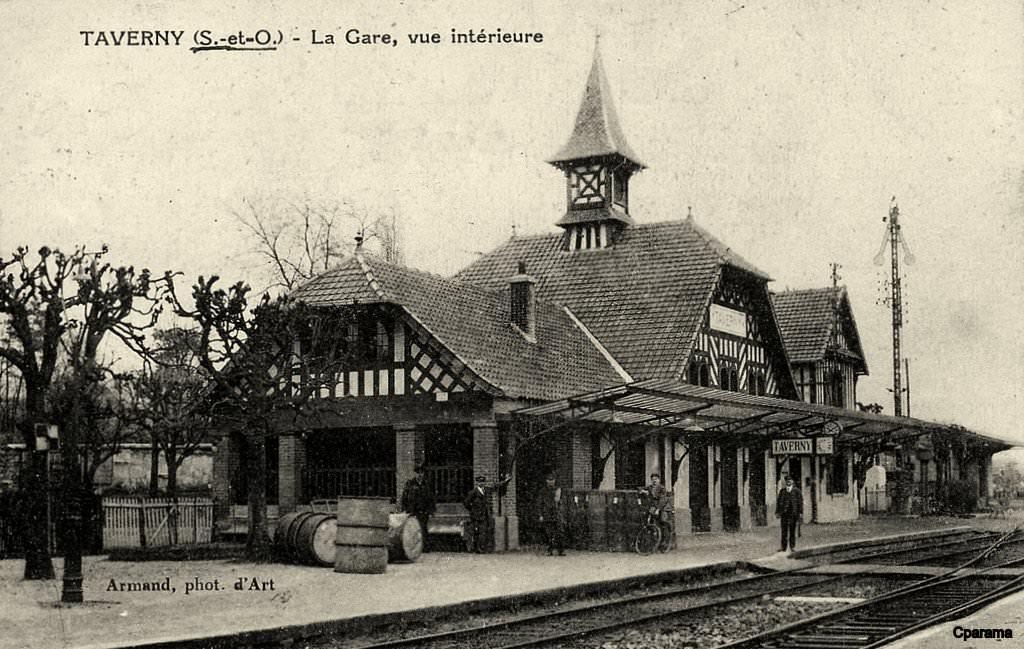 Taverny 95 val d 39 oise cartes postales anciennes sur for Photographe clamart gare